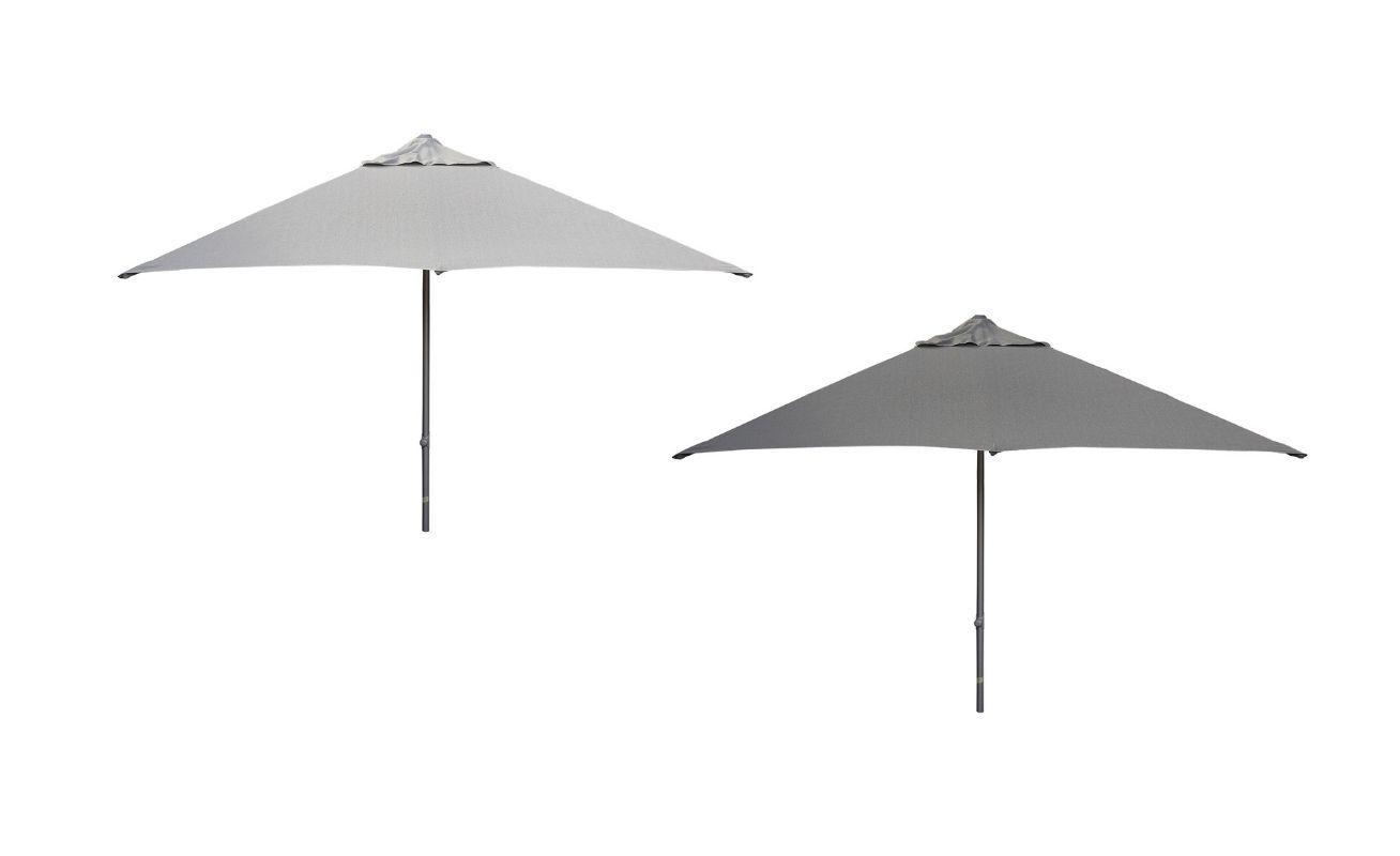 Major Light Grey and Antracite Parasol Danish Design Co Singapore