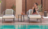 Manutti Outdoor Chaise Lounge Danish Design Co Singapore