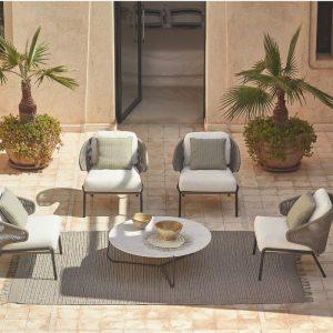Manutti Outdoor Lounge Chair Danish Design Co Singapore