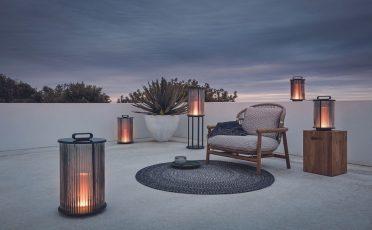Gloster Line Glass Outdoor Lantern - Danish Design Co Singapore
