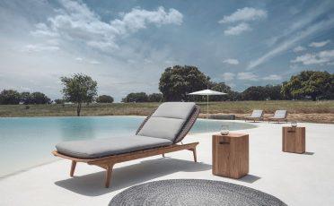 Kay Outdoor Lounger - Danish Design Co Singapore