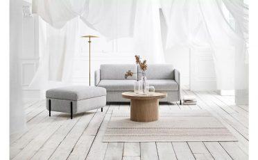 Bolia Pira Sofa Bed light grey fabric - Danish Design Co Singapore